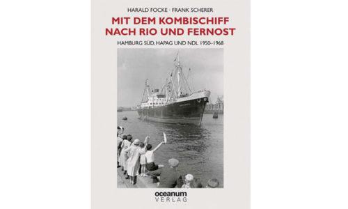 """Buchcover """"Mit dem Kombischiff nach Rio und Fernost."""