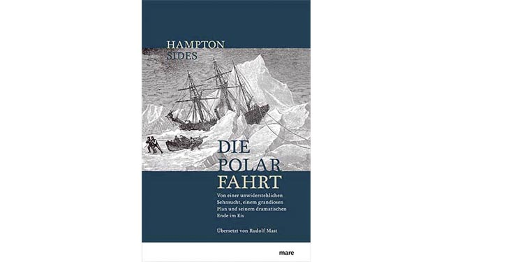 "Buchcover ""Die Polar Fahrt"""