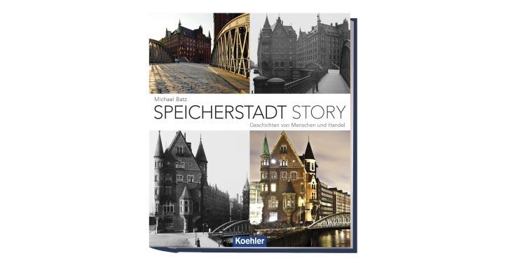 """Buchcover """"Speicherstadt Story"""""""