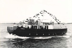 TORULF, built in 1957, yard number 11.