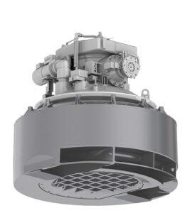 Der SCHOTTEL Pump Jet ist ein 360 Grad steuerbarer Spezialantrieb.