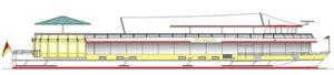 Das neue Fahrgastschiff RENATE fährt mit Schottel Pump Jets.