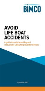 "Broschüre ""Avoid Lifeboat Accidents"""