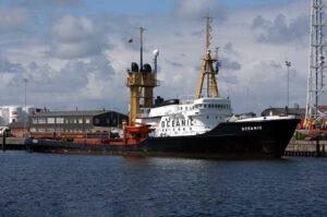 Nach über 40 Jahren zuverlässigem Dienst wurde die OCEANIC ausgemustert.