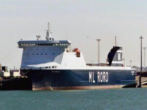 RoRo-schiff FREYJA.