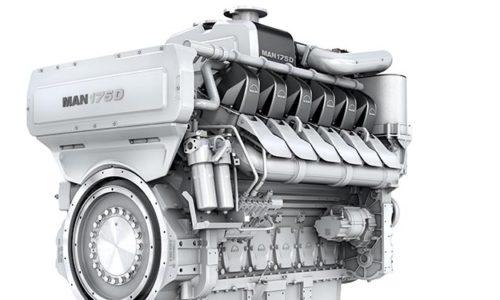 MAN Motortyp 175D.