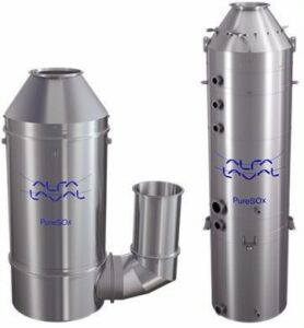 Alfa Laval PureSOx the choice for SOx abatement on over 100 vessels.