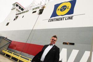 Ragnar Johansson, Managing Director bei Swedish Orient Line AB.