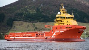 Offshore supply vessel Viking Princess.
