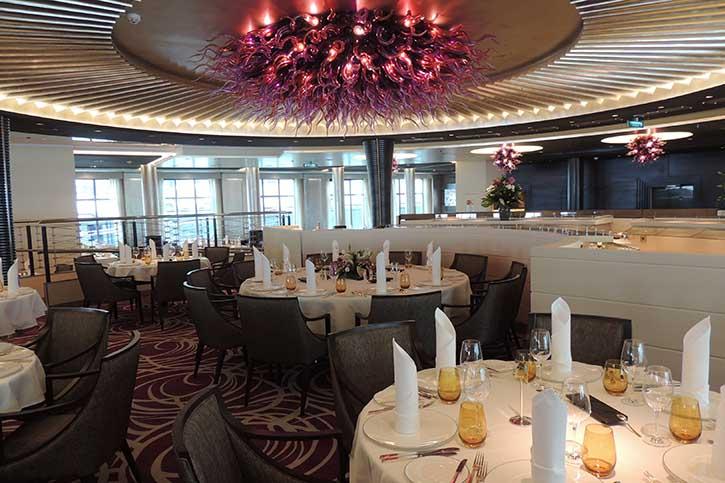 Restaurant Weltmeere, Deck 4