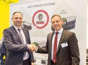 From left: Rik De Petter, Bureau Veritas and Tim Berckmoes CEO ABC