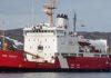 Canadian Coast Guard's vessel Ann Harvey.
