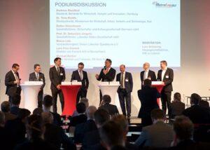 Podiumsdiskussion der Logistik-Initiative Hamburg.