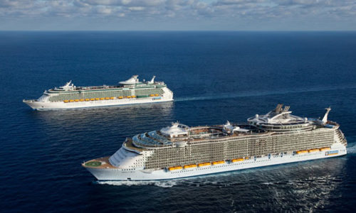 Royal Caribeans latest cruise vessels.