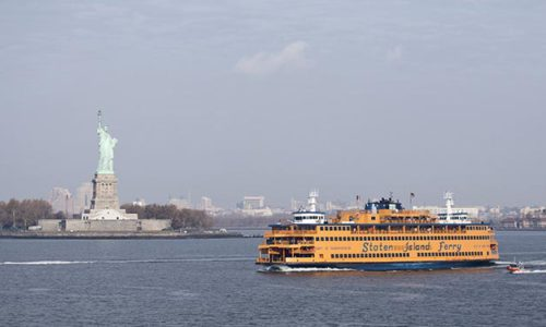 Die Staten-Island-Fähre ist eine der berühmtesten Fähr-Verbindungen weltweit.