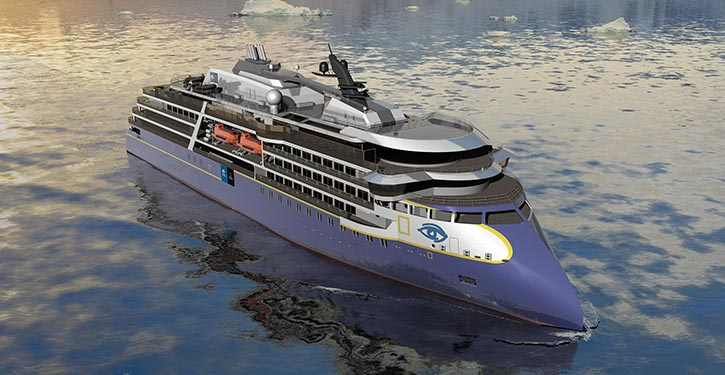 Expedition vessel designed by Ulstein