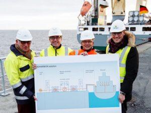 Von links: Torsten Wüstenberg, Carsten Sünnke-Berendsen, Holger Banik, Andreas Menzel.