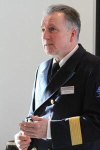 Leiter des Havariekommandos Hans-Werner Monsees.