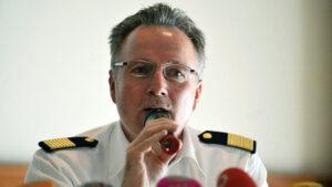 Leiter Havariekommando Hans-Werner Monsees.