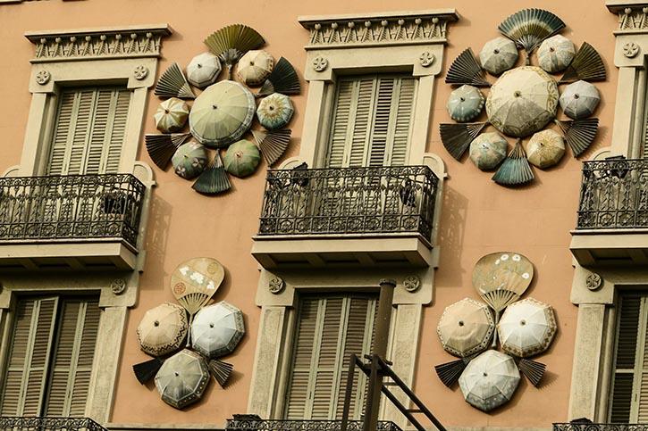 Haus der Schirme.