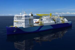 Das neue Nauticor LNG-Bunkerschiff. © Nauticor