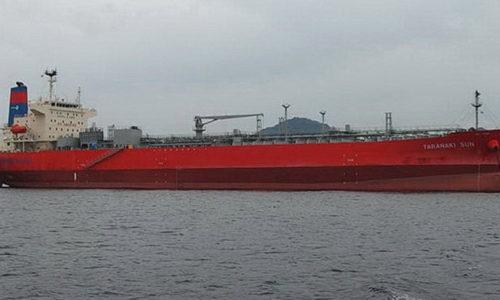 TARANAKI SUN: Waterfront shippings first tanker running on methanol fuel. © MA D&T
