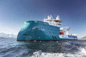ACTA AURIGA completes sea trial. © Acta Marine