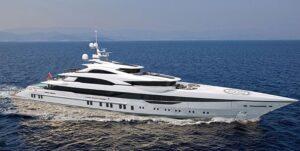 Yacht mit IMO-III-Antrieb von MTU (2 x 16V 4000 M73 + 2 x SCR-System) ist derzeit im Bau bei der Istanbuler Werft Bilgin Yachts.