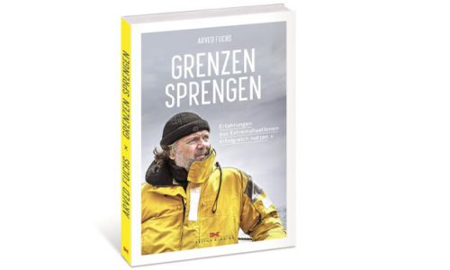 "Buchcover ""Grenzen Sprengen"". © Verlag"