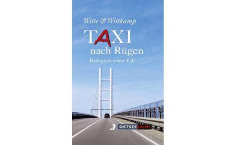 """Buchcover """"Taxi nach Rügen"""". © Verlag"""