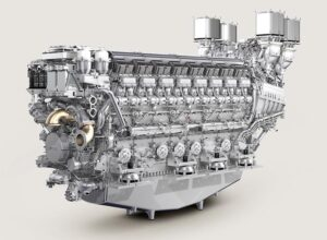 16V-Motor der Baureihe 8000. © Rolls Royce Power System
