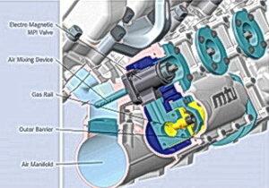 Neue MTU-Gasmotoren werden mit einer Multipoint (Mehrpunkt)-Gaseindüsung ausgestattet.