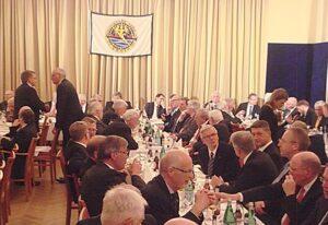 Geladene Gäste im Nautische Verein zu Emden. © P.pospiech