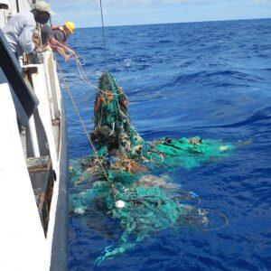1,6 Millionen Quadratkilometer Fläche bedeckt der Pazifische Müllstrudel inzwischen. © The Ocean Cleanup