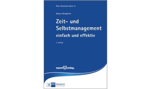 Cover Zeit und Selbstmanagment. © Verlag