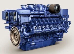 MTU-Gasmotor 16V4000