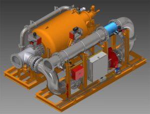 Ballastwasserbehandlungssystem Aquarius EC (electro chlorination)
