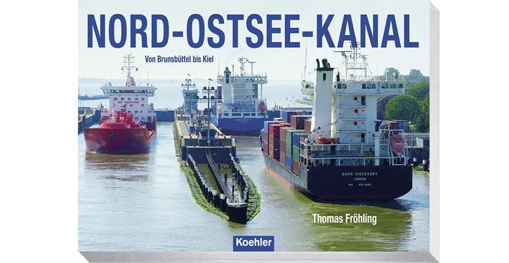 Buchcover Nord-Ostsee-Kanal. © Verlag