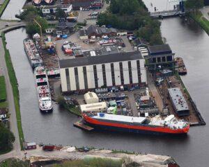 Die GS YARD im holländischen Waterhuizen (©GS YARD)