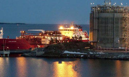 Maritime LNG Plattform