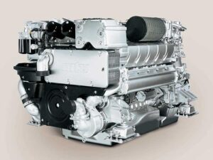 MTU-Motor des Typs 10V 2000 M72