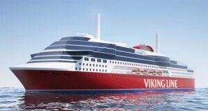 Schiff der Viking Line.