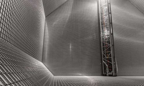 LNG fuelled tank design equipped with GTT's membrane containment system.