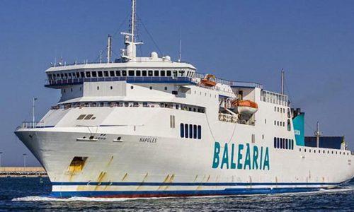 NAPOLES und Schwesterschiff SICILIA warden auf Erdgasbetrieb umgerüstet