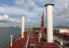 Norsepower Rotor Sails installed on MAERSK PELICAN