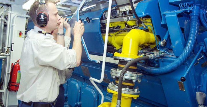 Rolls Royce new gas engine.
