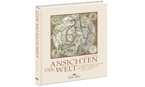 """Buchcover """"Ansichten der Welt"""". © Verlag"""