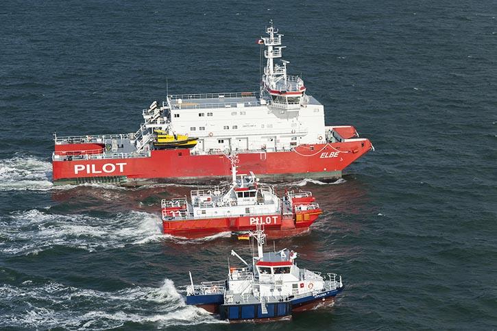 SWATH@A&R Schiffe in verschiedenen Größen. © A&R