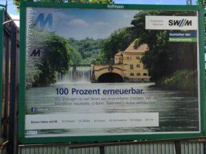 Plakat Stadtwerke München