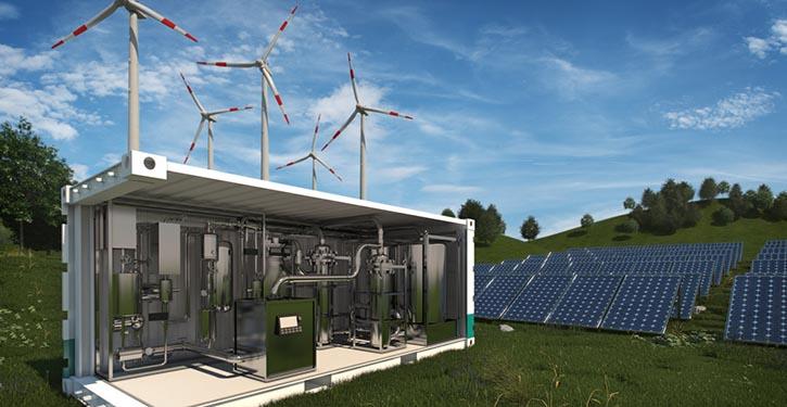 Klimaziele und Energiewende nur mit Power-to-X erreichbar